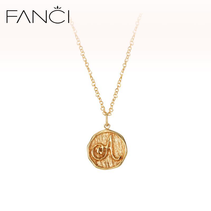 Wholesale Fanci Light 10k Gold Jewelry Korean Female Simple Letter