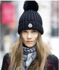 2017 Winter Hats For Men Women Van Beanie Knitted Wool Hat Fashion ... aa59a735ceff