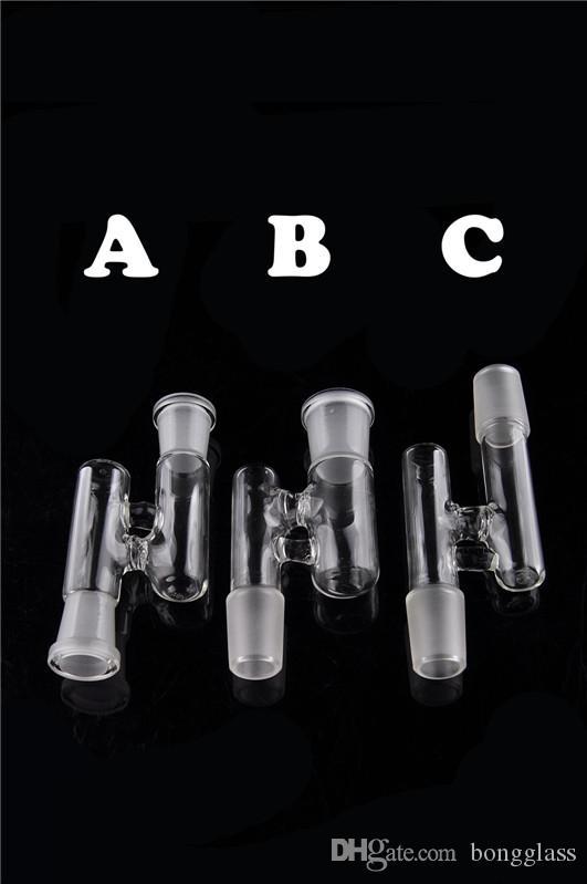 흡연 액세서리 앞뒤를 헤아 리지 소량 리그 봉 물 담뱃대 용의 주식의 14mm 남성 유리 그릇 18mm 여성 유리 그릇