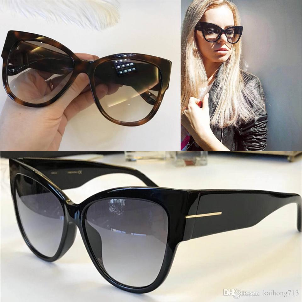 2018 Fashion Brand Large Frame Luxury Style Sunglasses Women s Best ... 2457795edf