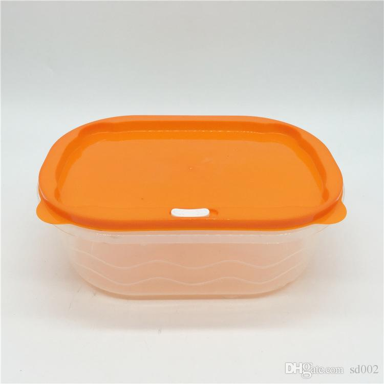 Plastic Lunch Box Rectangle With Lids Keep Fresh Lunchbox For Outdoor Picnic Portable Storage Boxes Colorful 11 75tt B