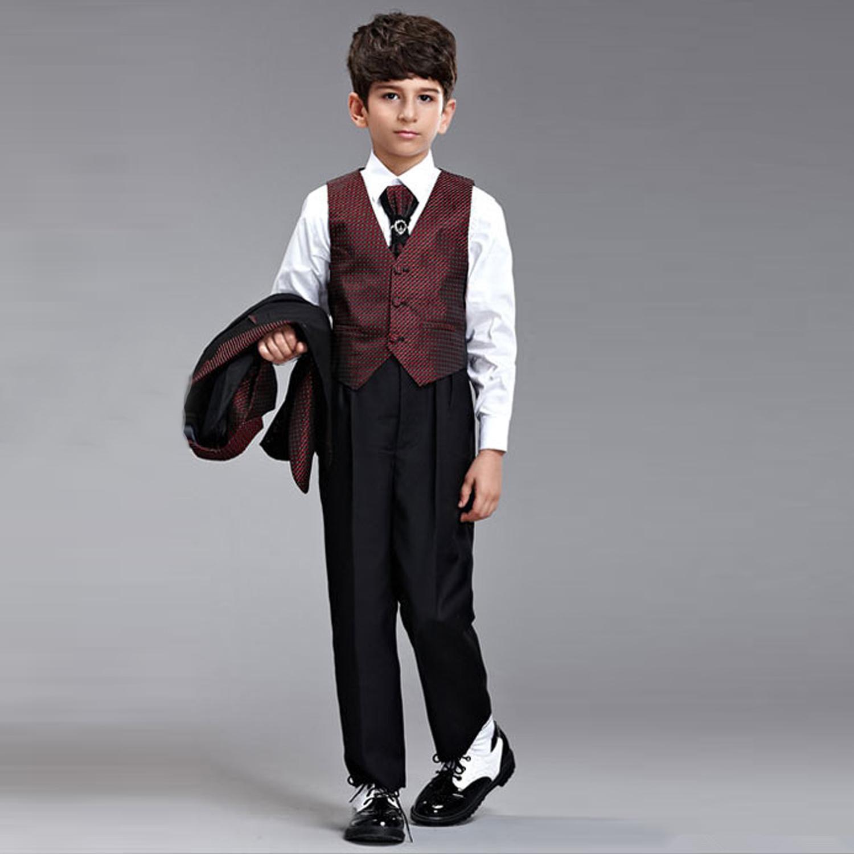 First Communion 2015 New Boy Children Suit Boyu0026#39;S Formal Wear Suits For Wedding Part Boysu0026#39; Attire ...