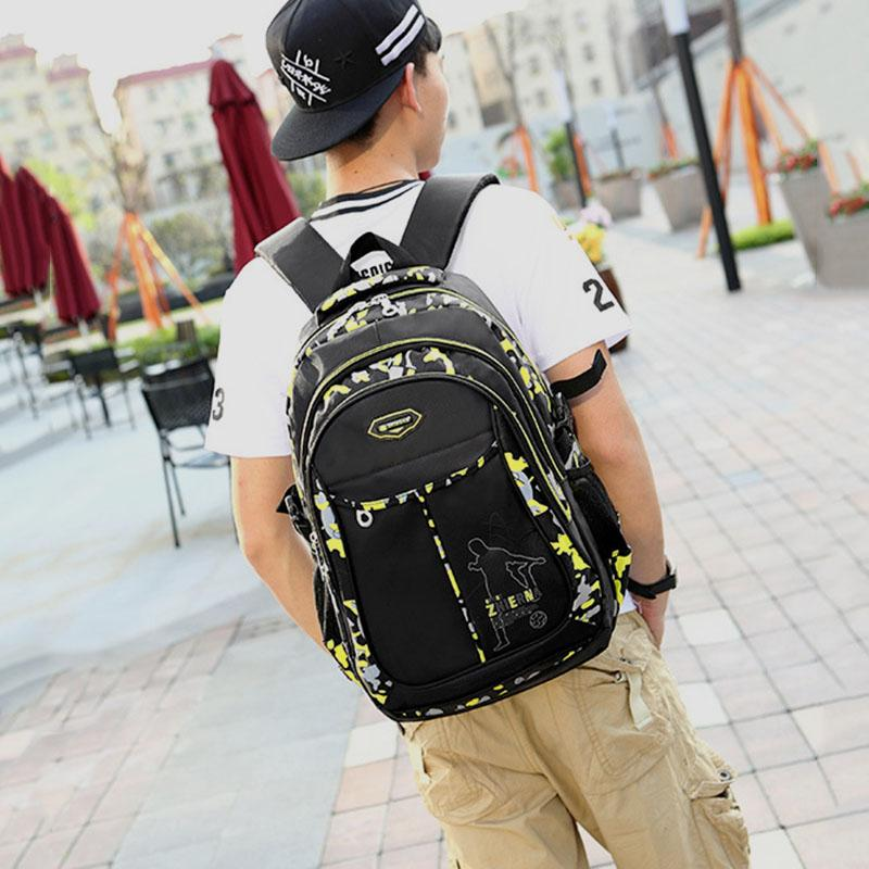 Teenage Backpacks For Teen Boys School Backpack Fashion Men Backpack Male  Military Nylon Bagpack Youth Teenagers Boy Mochila Masculina Messenger Bags  For ... d13049b625