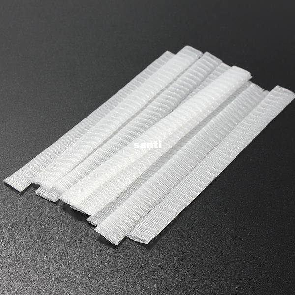 1000 pcs/lot White Make Up Cosmetic Brushes Guards Most Mesh Protectors Cover Sheath Net Without Brush