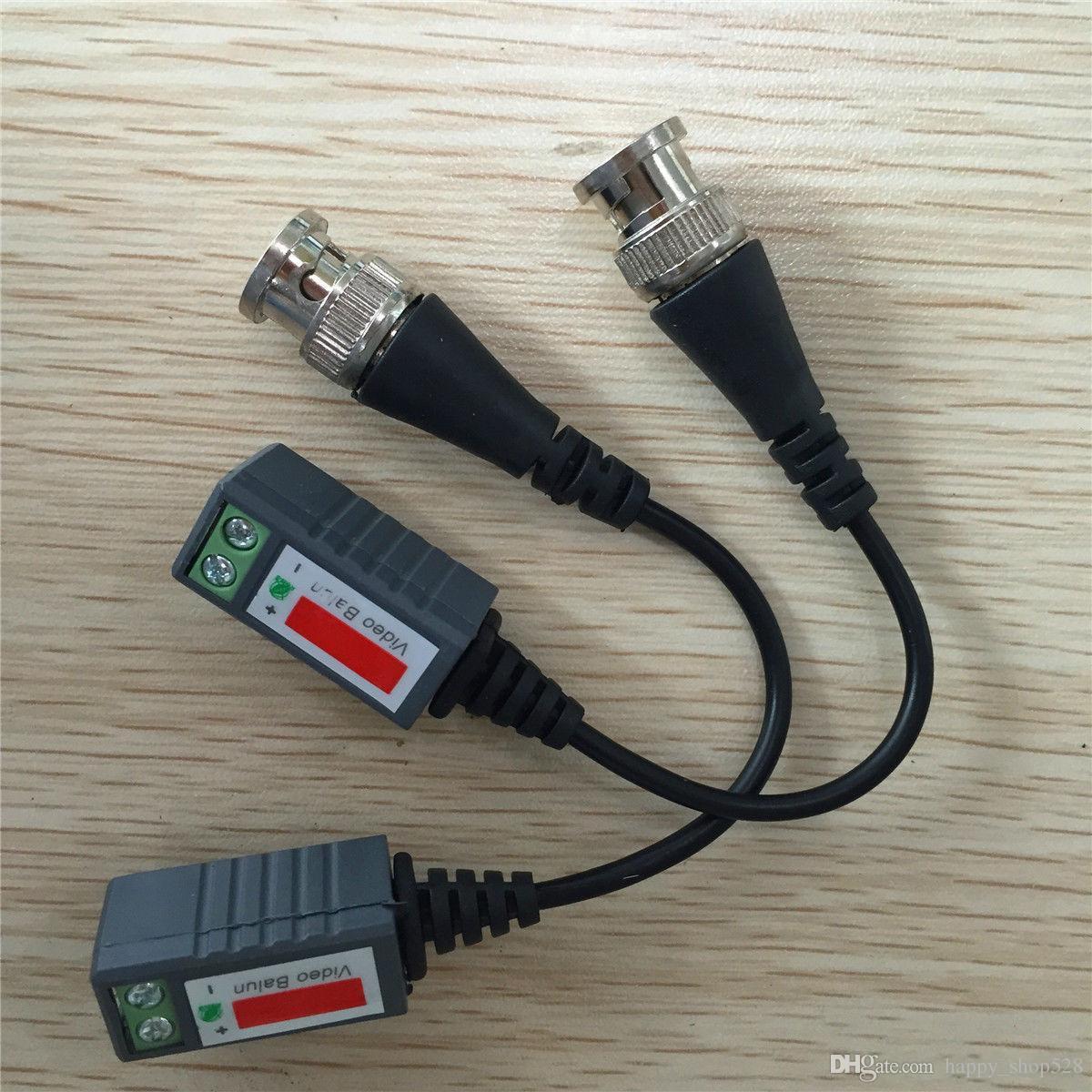Video balun Transceiver Cable Camera CCTV BNC CAT5 Video Balun Transceiver Cable with packing FOR Camera CCTV