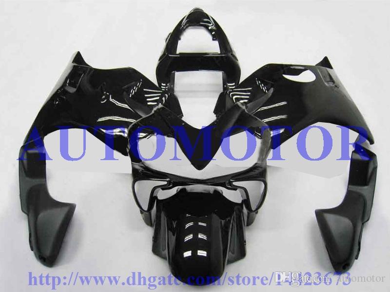 Injection Molding for Honda CBR600F4i 2001 2002 2003 CBR600 F4i 01 02 03 black body fairing kits OEM-Quality #2JJ8