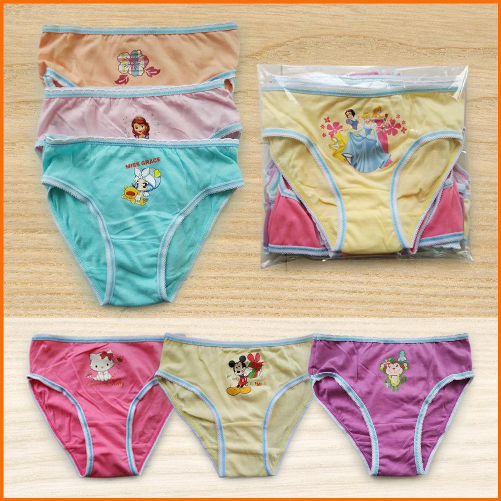 Shop Panties Online, Cute Kids Underwear For Girls 100% Cartoon ...