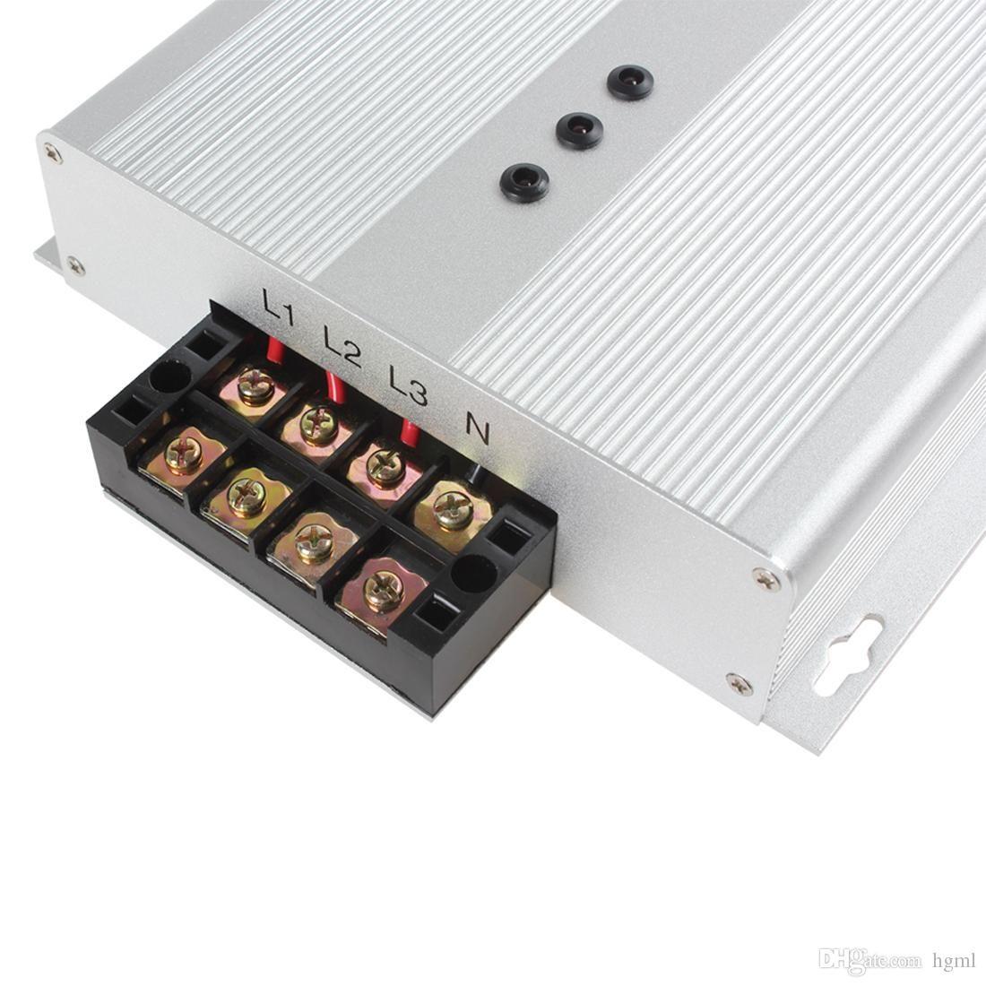 US EU Reino Unido ficha 45KW / 60KW Intelliworks Energy Savers economizador de energia Trifásico Industrial Power Saver Box AC 90-400V poupança de energia 35% EGS1B0