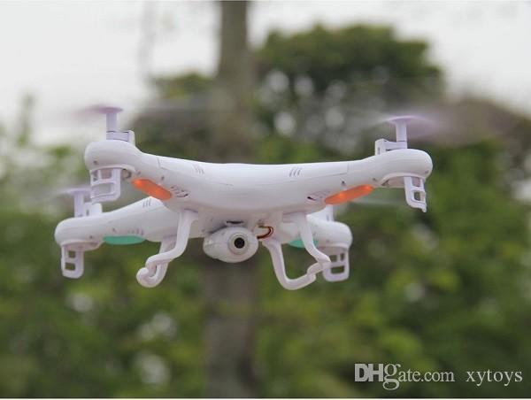 Liberi la nave SYMA X5C RC elicottero Quadrocopter UFO drone con fotocamera da 2.0MP Telecomando radiocomando giocattoli 4CH 6Axis FSWB