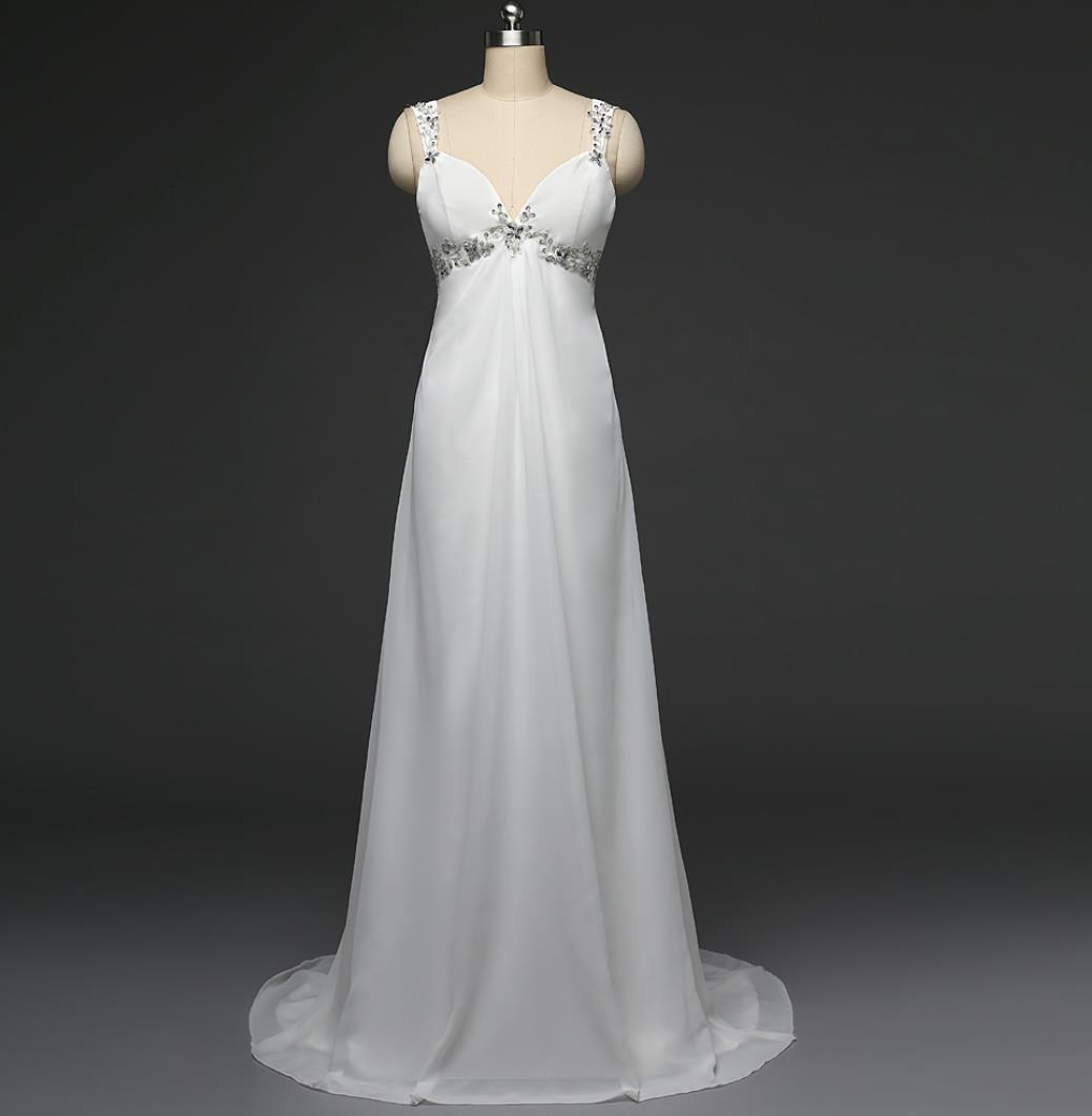 Discount Cheap Maternity Beach Wedding Dresses With