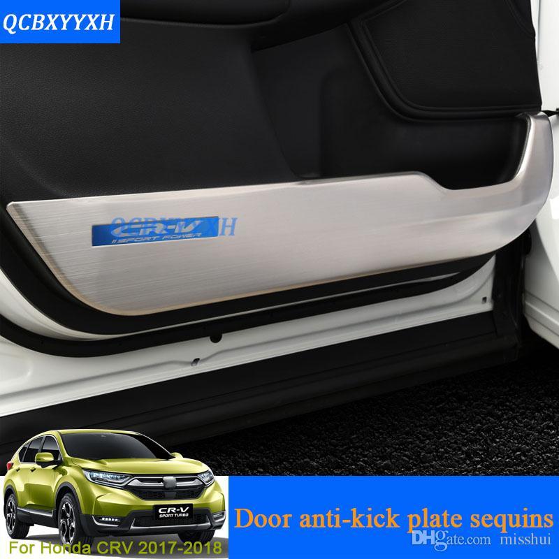 4Pcs Carbon Fiber Style Door Handle Armrest Trim Fit for Honda Civic 2016 2017