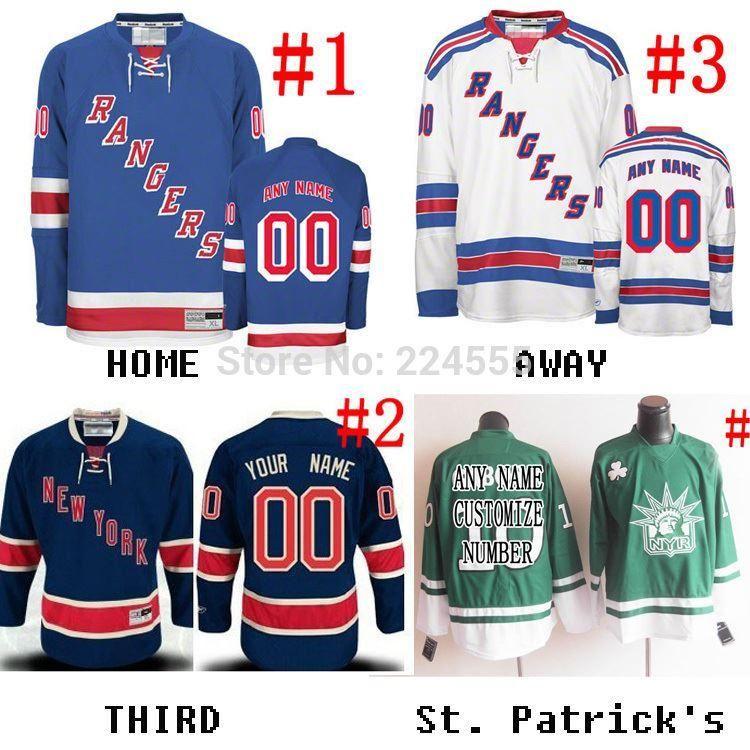 brand new ed5a7 6b75a 2016 FINALS New York Rangers Jersey Custom Home Away Alternate sewn on any  name/NO./SIZE henrik lundqvist/derek stepan jersey