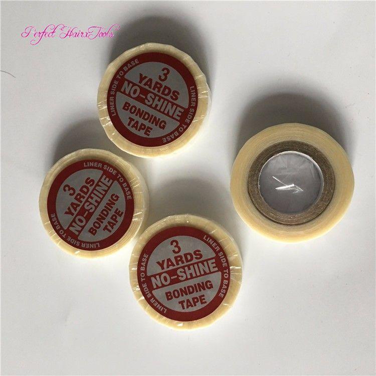 1 rouleau * 1 cm * 3 verges Super Ruban Adhésif Double Face pour Extension de Cheveux Pu / Perruque / Toupee