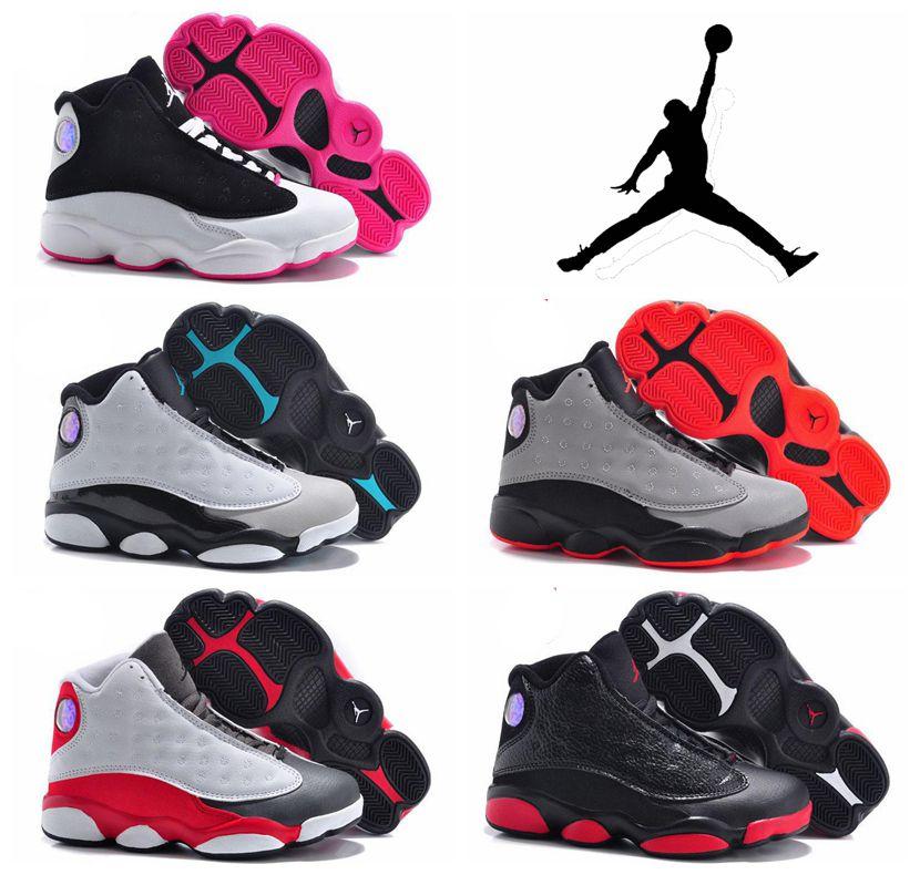 c81c96ab9ad ... norway nike air jordan 13 xiii retro basketball shoes childrens  athletic shoes boys girls cute kids