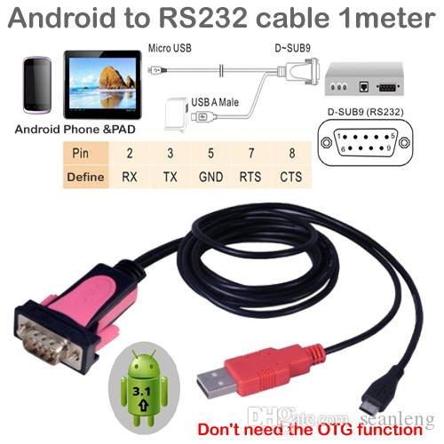 Gro U00dfhandel Micro Usb To Rs232 Mit Strom Android Zu Rs232