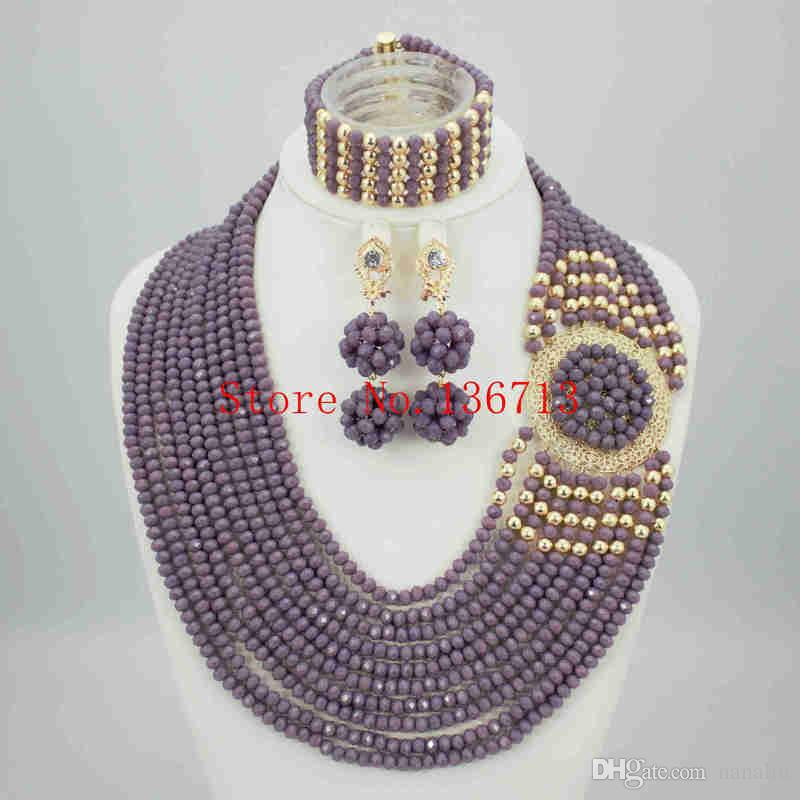 2016 Coral Bead Sets Jewelry Latest Design Nigerian Beads Necklace ...