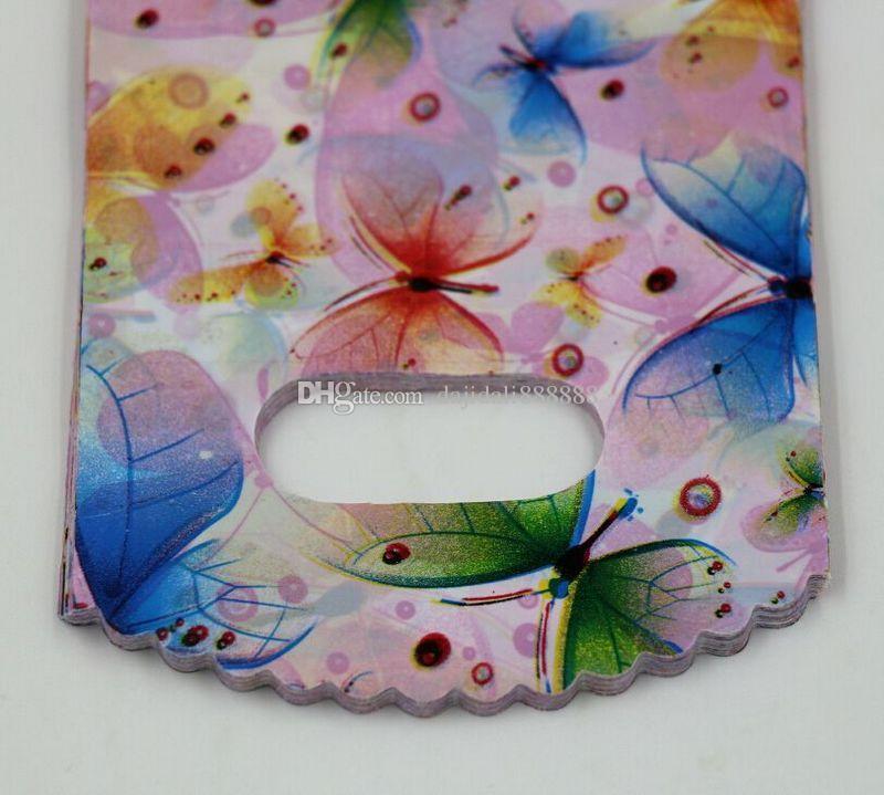 Mic Takı Torbalar .100 adet Kelebek Plastik Torbalar Takı Hediye Çantası 9x15 cm 13x20cm vb .5 Boyutu Seçimi
