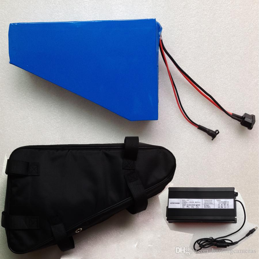 Gratis tas EBIKE batterij 48v 30AH 2400W elektrische fiets batterij 48v met lithium batterij 48V batterij voor Samsung 30B cel
