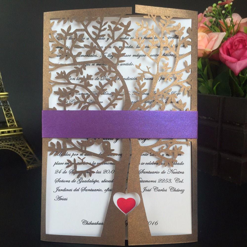 Wholesale Wedding Invitations Card Greeting Card Christmas Card Chic
