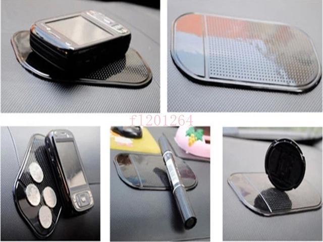 Frete Grátis Poderoso Magia Almofada Pegajosa Anti Slip Mat Antiderrapante Para O Telefone PDA mp3 mp4 Acessórios Do Carro 6 cores, 5 pçs / lote