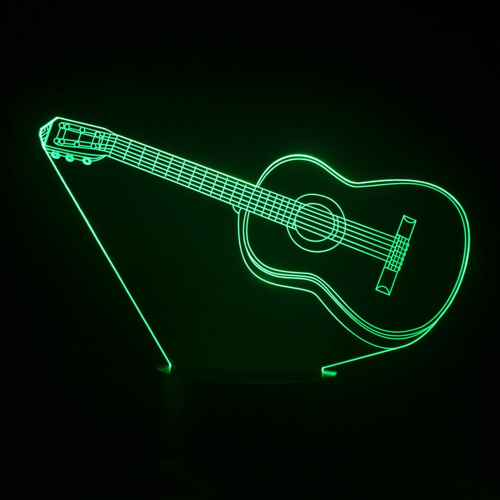 2018 wholesale colorful 3d visual lights guitar table lamp 2018 wholesale colorful 3d visual lights guitar table lamp childrens nightlight led night lights methacrylate plate lamparas bedside lumineuse from goddard aloadofball Images