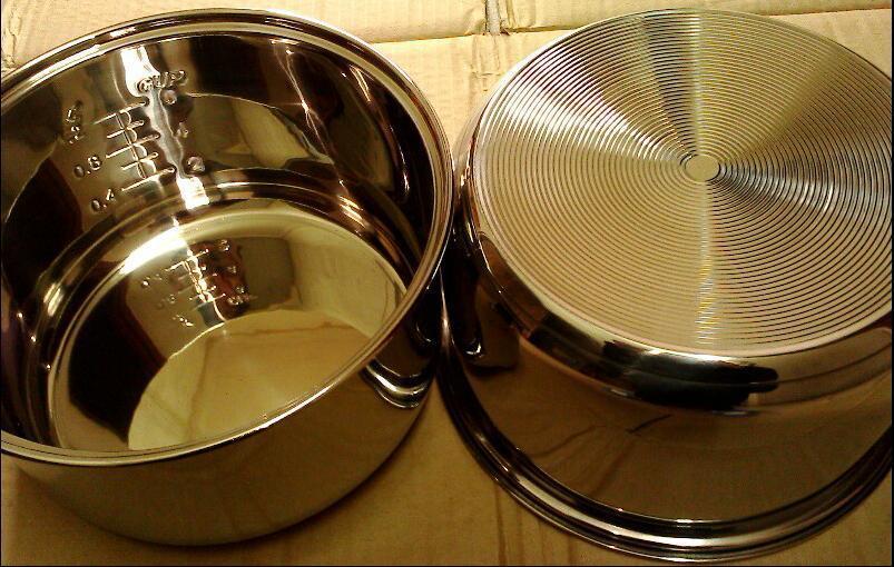 3L acciaio inossidabile bakeware rotondo strumenti di cottura stampi di cottura della torta ha battuto uovo vassoio da dessert padella 21 * 11,3 centimetri