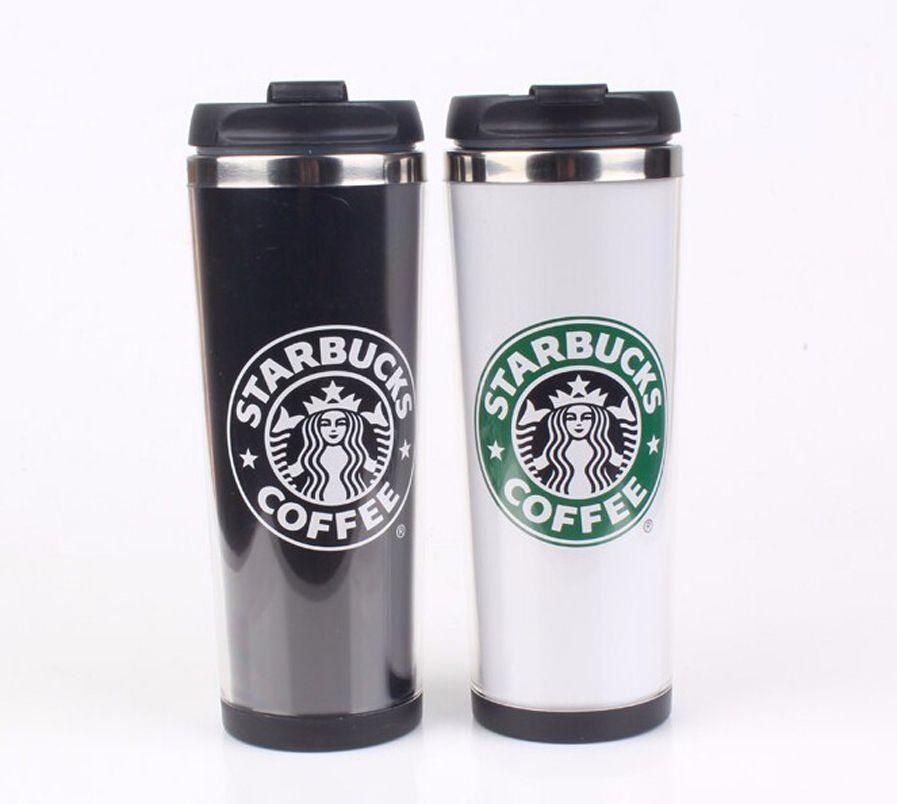 Starbucks Double Wall Stainless Steel Mug Flexible Cups
