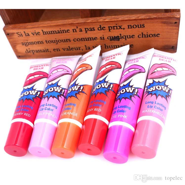 립글로스 립스틱 껍질 벗기는 립스틱 찢어진 립스틱 식물 립 글로스 립스틱 곰 메이크업 보습 립 마스크