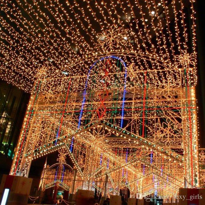 200 led light string christmas party stage wedding fairy lighting show rope lights 30m string lights indoor party string lights from sexy_girls