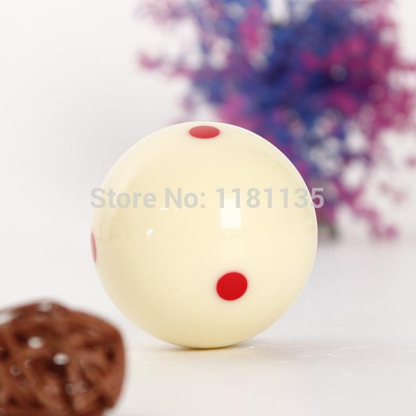 Overvalue Lowest Price High Quality New 6 Red Dots Billiard Practice  Training Cue Pool Ball Table Diameter 50mm FREE SHIPPING