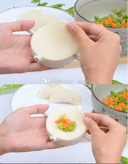 Press Ravioli Dough Pastry Pie Dumpling Maker Gyoza Empanada Mold Mould Tool 3 Size Easy Eco Friendly Dumpling Mould