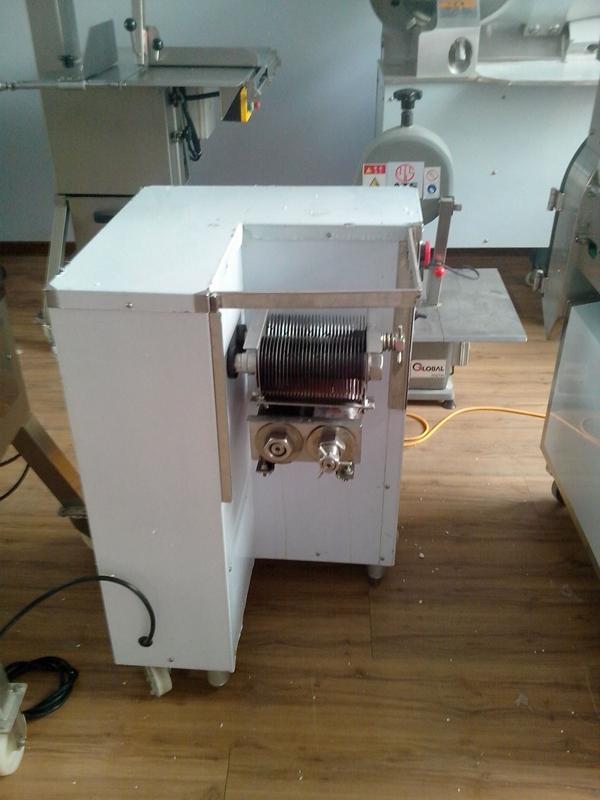 Atacado - Frete Grátis 110 / 220V QSJ-B Multifunções Vertical Carne Slicer, Máquina de corte de carne, máquina de cortador de carne
