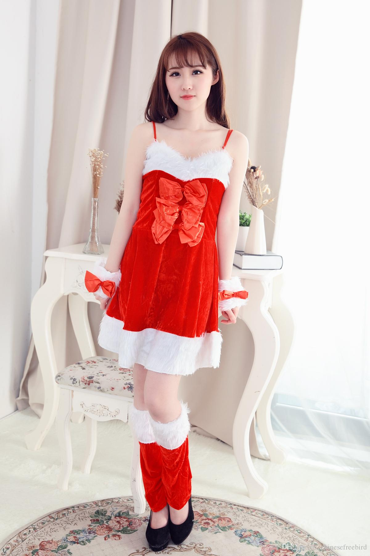 Großhandel Weihnachtskostüm Urlaub Fantasy Minikleid, Outfit Fancy ...