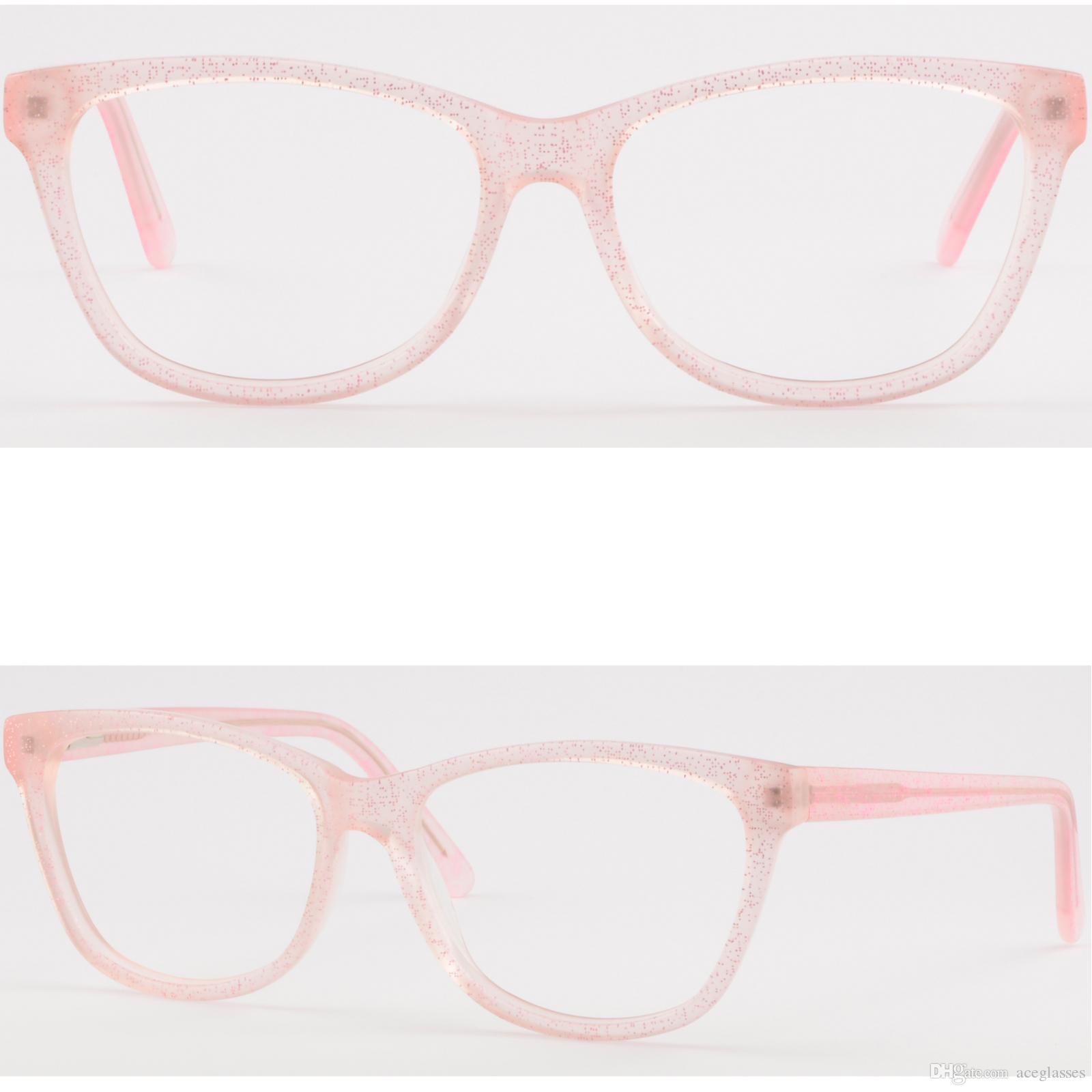fd5369b6b0f Light Women s Plastic Frames Prescription Glasses Spring Hinges ...