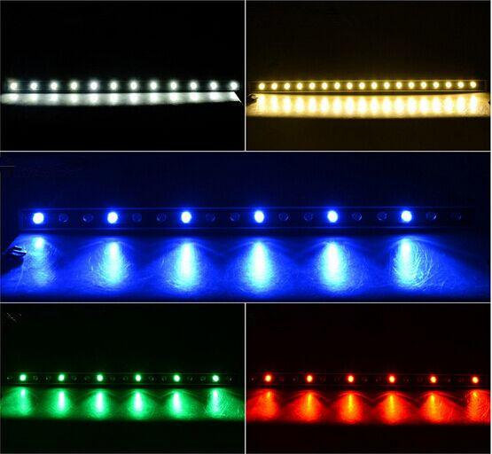 LED wall washer landscape Floodlights high power 18W 24W 36W staining light bar light AC85-265V RGB with many colors DHL