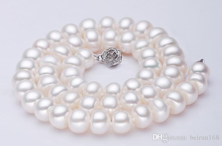 Wholesale Pearl accessories Yu fu yuan 925 silver plum pearl necklace bracelet clasp YPJ17