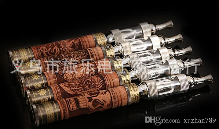 new second generation carved wooden skeleton electronic cigarette smoking cessation products quality goods steam water pipe