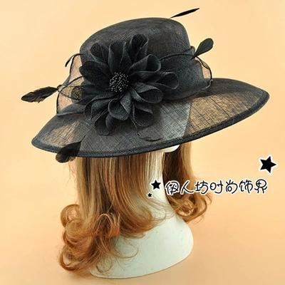 Royal Woman Bridal Hats Pillbox Fascinator Hats Wedding Guest Hat Formal  Evening Headwear Felt Hat Feather Perching Fascinator Multi Colors Top Hat  Wedding ... facdb6df90f5