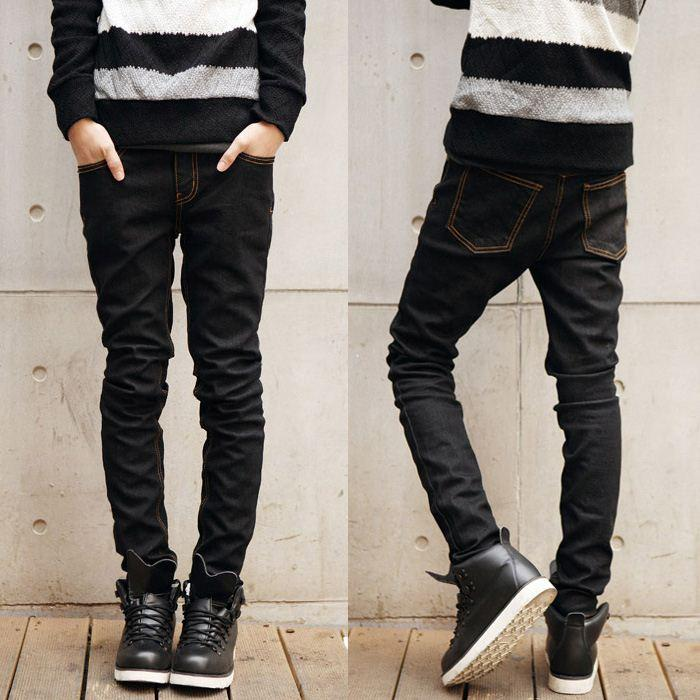 2017 New Black Jeans Men'S Fashion Men'S Cultivate One'S Morality ...