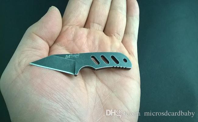 Envío gratis U.S MTech MINI mini cuchillo de cuello cuchillos de cuchilla Fija cuchillo de supervivencia al aire libre cuchillo de supervivencia regalo 783L