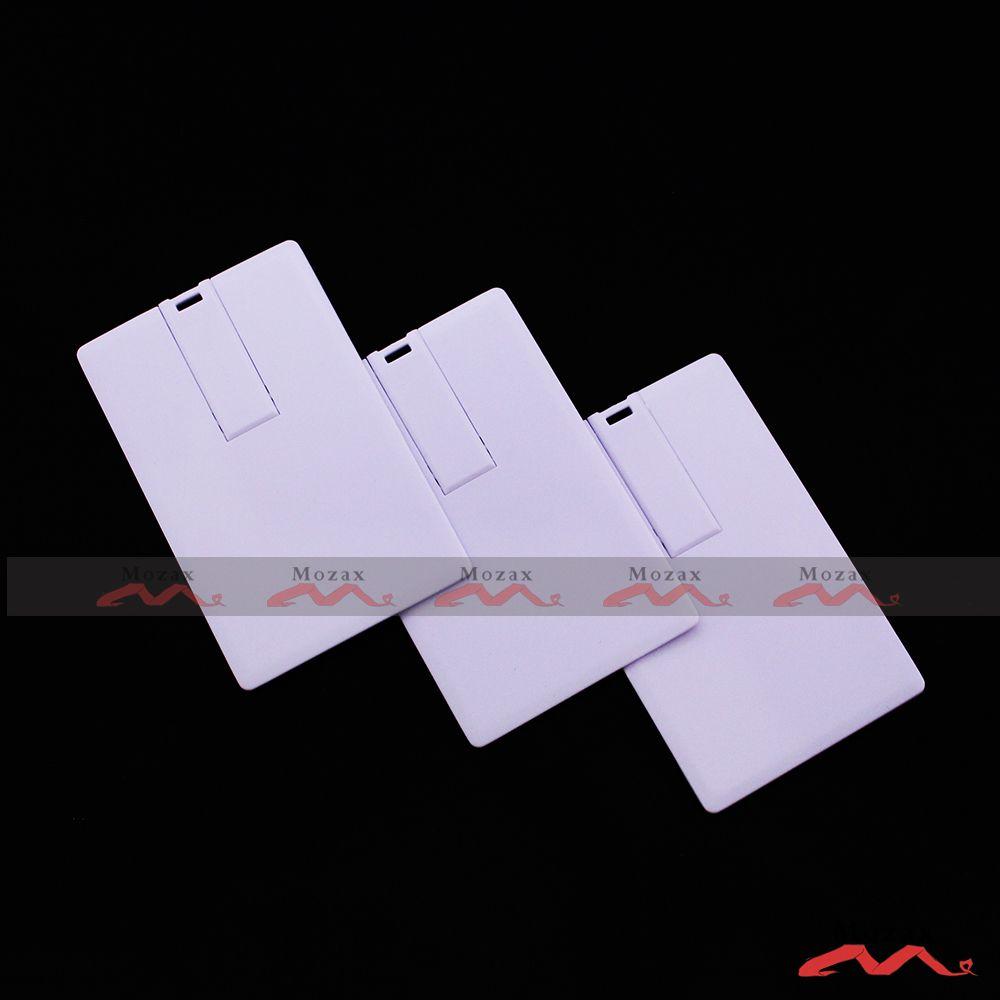 128MB 256MB 512MB 1GB 2GB 4GB 8GB 16GB Card USB Flash Drive Blank White Genuine True Storage Suit for Customized Logo Print
