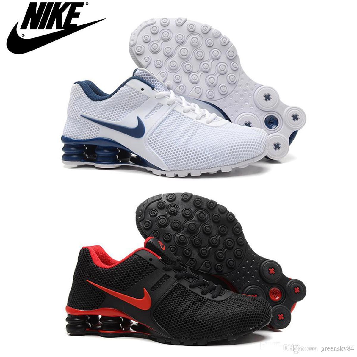brand new 9b783 36bac Compre Nike Shox Zapatos Para Correr 807 Turbo KPU, Original Al Por Mayor  Baratos Nike Shox NZ, R4, Las Zapatillas De Deporte Tamaño R2 Hombres De 41  46, ...