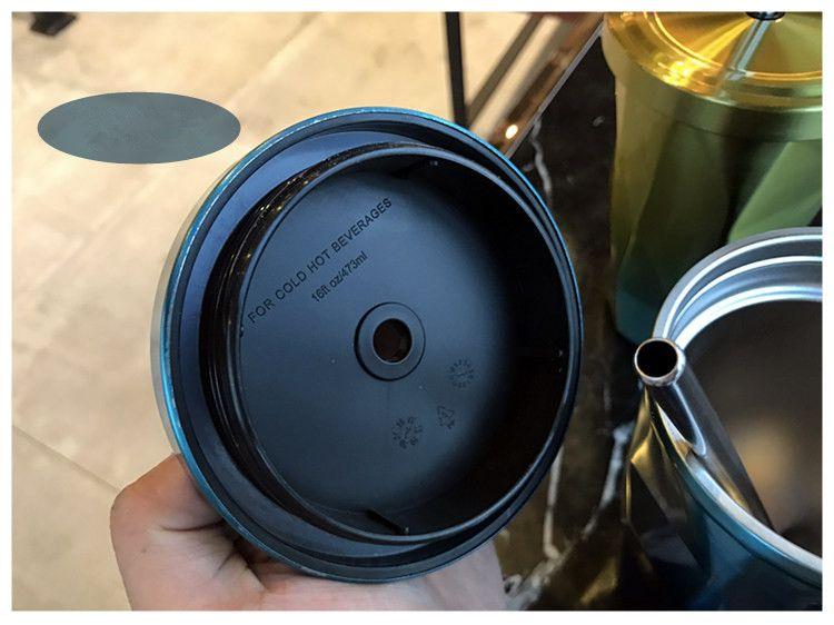 Yüksek quanlity Starbucks Paslanmaz Çelik Vantuz ile Tanrıça Yalıtım Fincan Yaratıcı Kahve Fincanı kapak a96