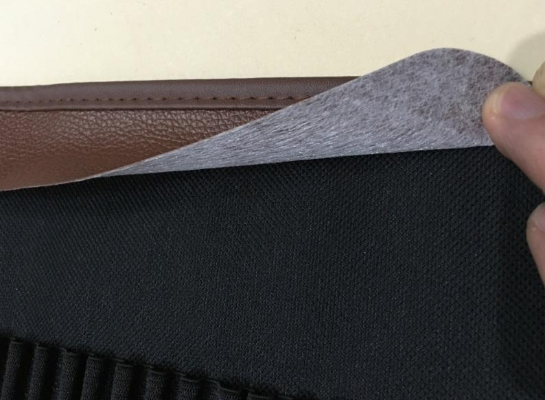 Multifunctionele verdikking canvas roller etui gekleurde potloden roll pouch grote capaciteit kan worden geladen in potloden
