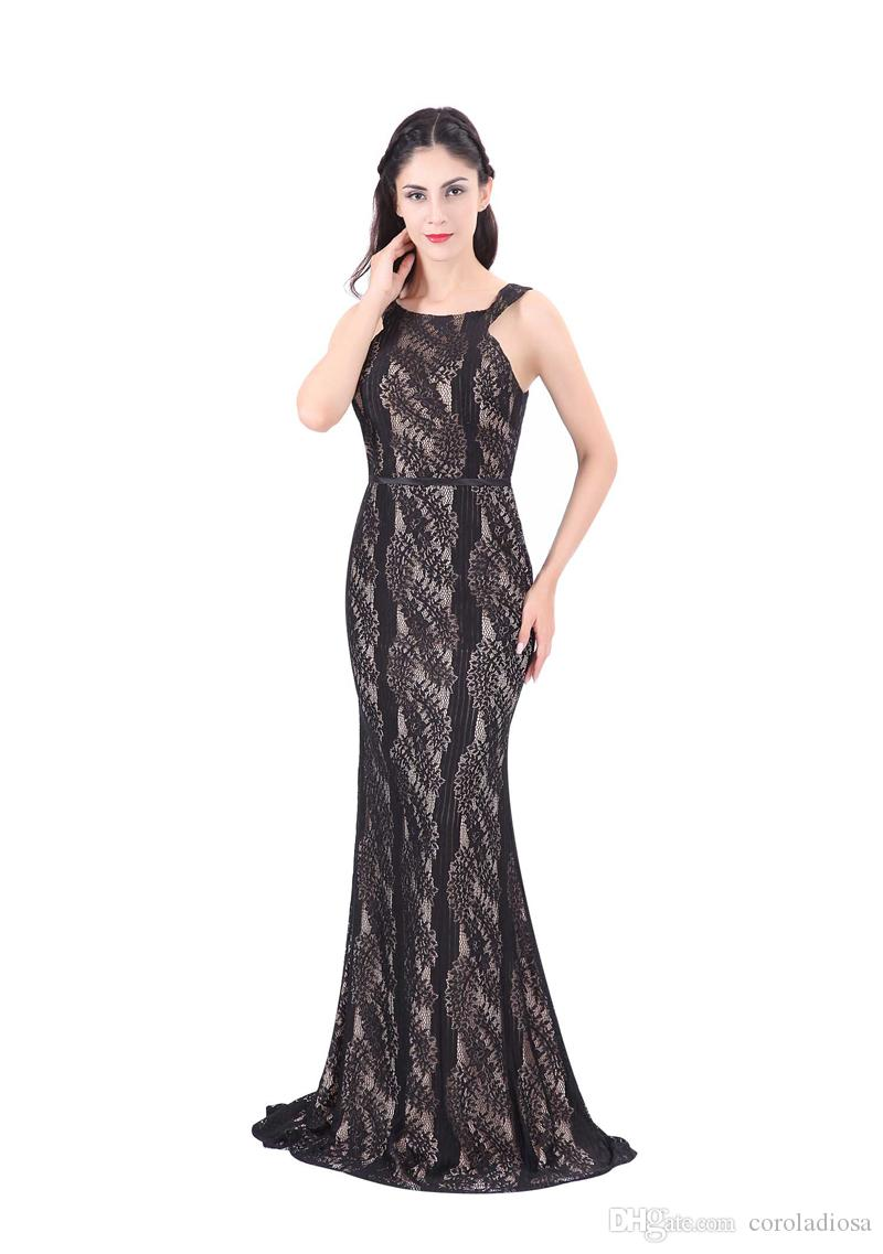 Women\'S Lace Evening Gowns Individualized Clothing Formal Long Party ...