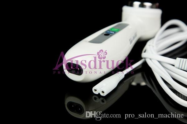 ¡Promoción! mini 1MHZ Ultrasonic Facial Massager cara limpiador de ultrasonido cuerpo facial cuidado de la piel anti arrugas máquina de la belleza