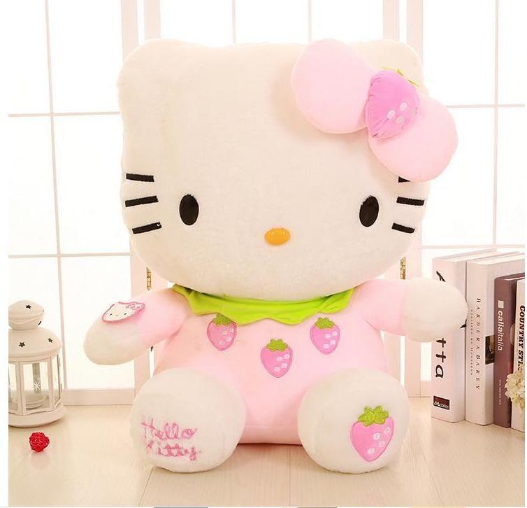 Große Hallo Kitty Puppe Stofftiere Spielzeug Hohe Qualität Hallo Kitty Plüsch Spielzeug Geschenk Für Mädchen