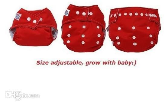 Adjustable Washable Baby Cloth Diaper Nappy Urine Pants