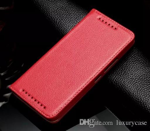 Vente chaude Pour HTC M9 Cas De Luxe Portefeuille Flip Véritable Couverture de Stand Coloré Ultra-Mignon Mignon Slim Etui En Cuir Pour HTC One M9