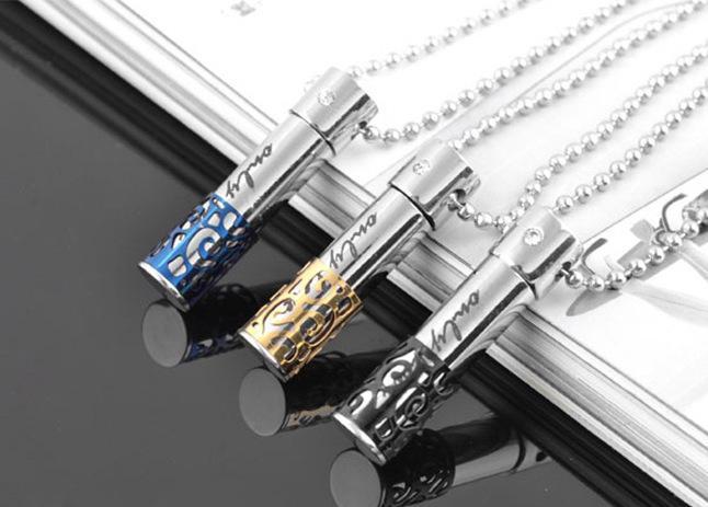 Collana di donne in acciaio inossidabile Collana di donne in acciaio inox Collana in acciaio inossidabile